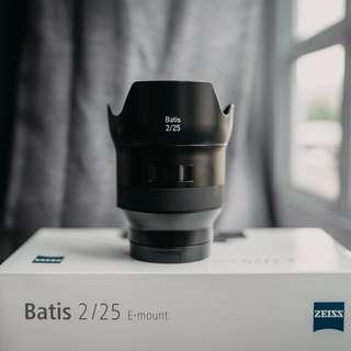 Sony Carl Zeiss 25mm Batis