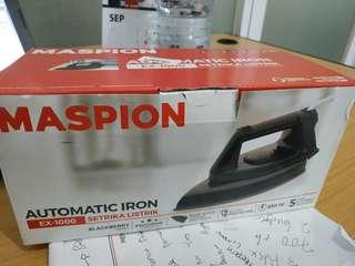 Setrika gosokan maspion automatic iron