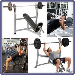 Incline Bench Press - Jual Alat Custome Gym Lengkap Murah