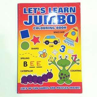 Main sambil Belajar Jumbo Colorbook