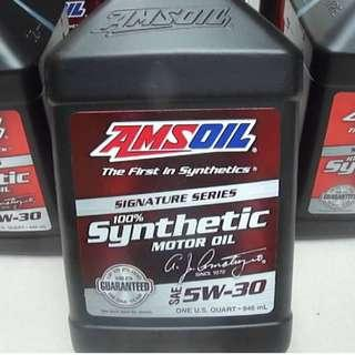 AMSOIL Signature Series 5W-30 Synthetic Motor Oil