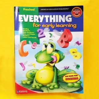 (Reprice) Early Learning Book