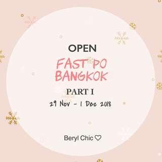 OPEN PO BKK 29 Nov - 1 Des (Katalog instagram @beryl.chic)