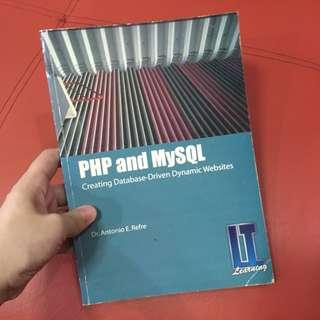 PHP and MySQL book