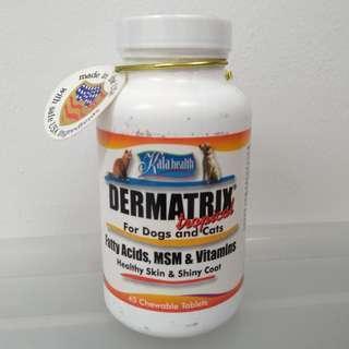 Kala Health Dermatrix Original for Dogs & Cats (45 tablets)
