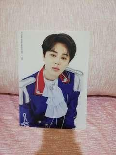BTS JIMIN 5TH TERM ARMY KIT CLEAR FILE