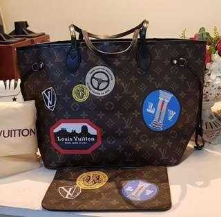 AUTHENTIC QUALITY LV MONO NEVERFULL MM