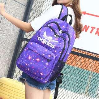 新款阿迪達斯男女雙肩包高中大學生書包校園運動背包