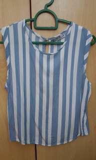 Cotton On Stripe Crop Top