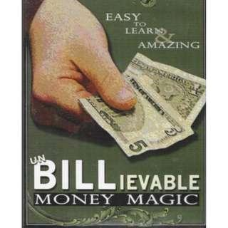 🚚 Un BILLievable Money Magic DVD
