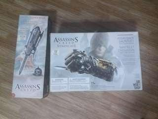 Assassins Creed Black Flag and Syndicate hidden blade