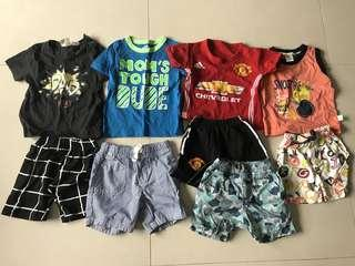 Bundle of Like New Baby Clothes 12 months