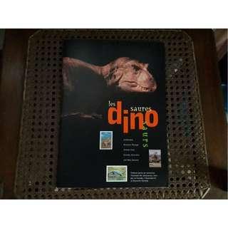 Dinosaur Album with Stamps