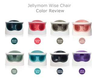Original Korea JELLYMOM WISE CHAIR (3mths till 5yrs old)😍