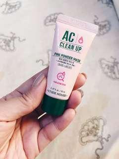 Etude House AC Clean Up Powder Mask