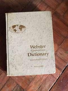Webster's Dictionary 1987