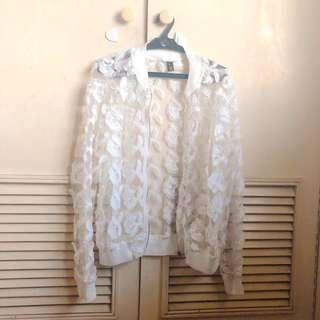 Korean Lace Jacket