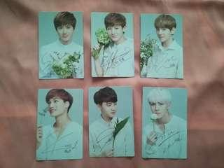 (WTS FAST) EXO K Nature Republic photocards