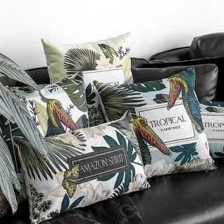 Forest Bird Cushion Cover, 森林大咀鳥圖咕𠱸套