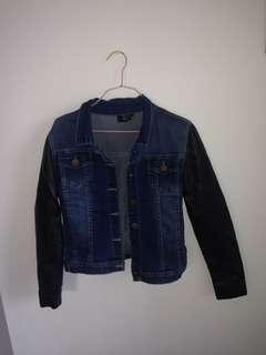 Jean leather jacket