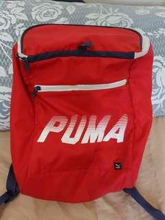 Puma Red Backpack