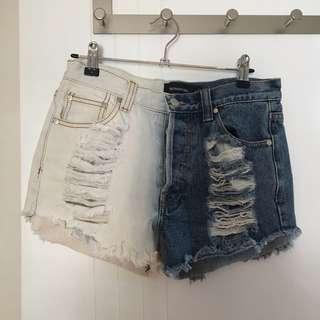 Minkpink Denim Shorts
