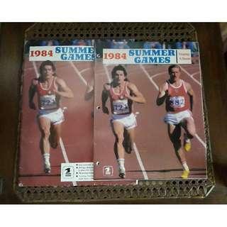 1984 Los Angeles Olympics Stamp Album