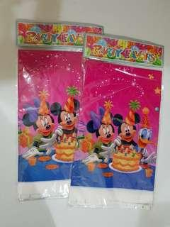 Mickey Mouse Disposable Plastic Table Cover