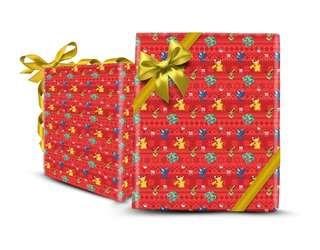 Limited Edition Nintendo Pokemon Wrapper Wrapping Paper