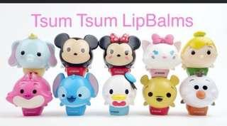 SALE!!!! Tsum tsum lipbalm for all ages hehe