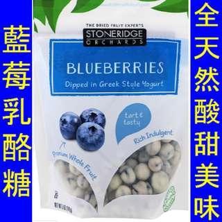 Stoneridge Blueberries Dipped Greek Yogurt 藍莓乳酪糖
