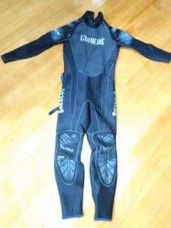 女裝 保暖泳衣 潛水衣 長䄂 5mm glauos