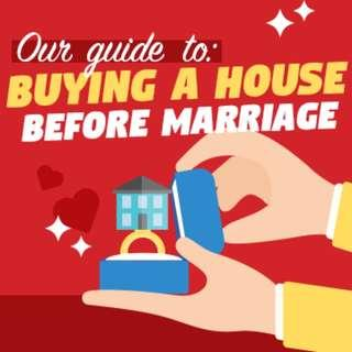 Buying a house... before marriage: A guide