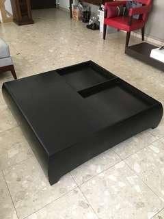Designer Coffee Table 103 cm square x 30 cm high. 6/10