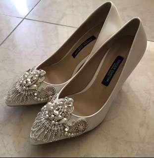婚後物資 婚紗高跟鞋