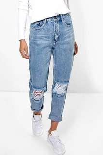 cotton on ripped boyfriend jeans