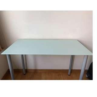 IKEA GLASHOLM GLASS TABLE 20799