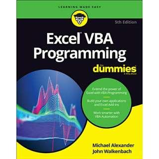 ( eBook ) Excel VBA Programming For Dummies, 5th Edition