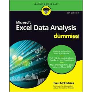 ( eBook ) Excel Data Analysis For Dummies