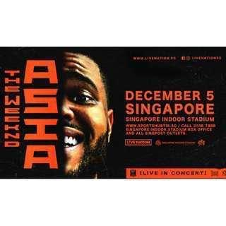 The weeknd Asia tour ticket
