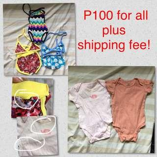 Preloved baby girl clothes