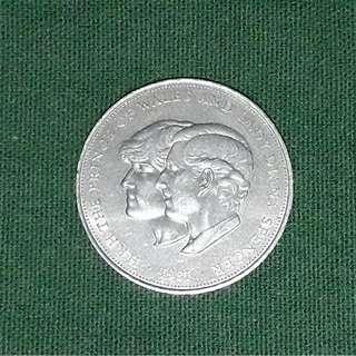 1981 Royal Wedding Medal
