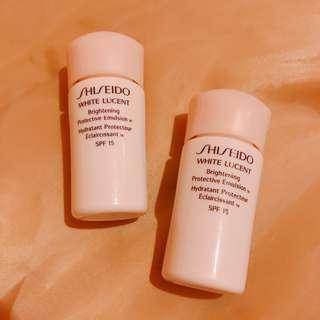 Shiseido White Lucent 日用乳液 SPF15
