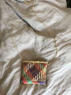 Cute little straw bag