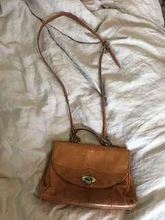 Gorgeous vintage leather bag