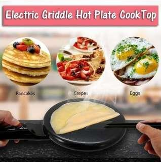 💥Electric Girdle Crepe Hot Plate CookTop (Free Container + Beater)💥