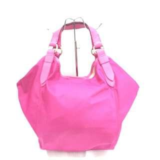 Givenchy Pink Nylon Hobo Bag