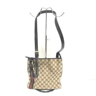 Gucci GG Supreme Canvas Jolicoeur Charms Messenger Bag