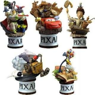 Square Enix Disney Pixar Characters Formation Arts Set of 5
