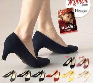 cinema club 日本品牌 高跟鞋 high heel 37 38 39號